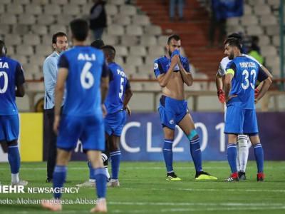 استقلال در آستانه حذف از لیگ قهرمانان آسیا و کسر ۶ امتیاز