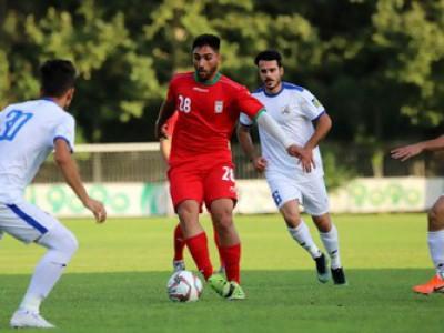 گزارش تصویری بازی دوستانه تیم ملی امید و نفت مسجد سلیمان