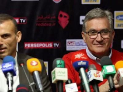 سیدجلال جایزه برانکو را به باشگاه پرسپولیس میدهد