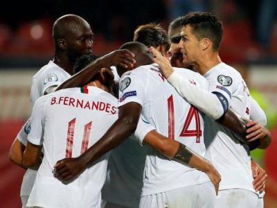 پرتغال 4 - 2 صربستان؛ برد شیرین یاران رونالدو در برابر صربستان