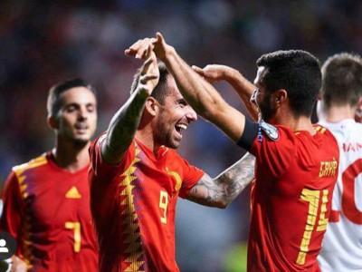 برد راحت اسپانیا و ایتالیا در مقدماتی یورو 2020