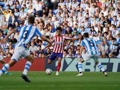 اتلتیکو مادرید 0-2 رئال سوسیه داد ؛ نخستین شکست اتلتیکو