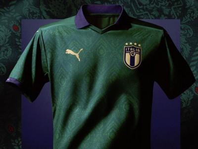 رونمایی از کیت جدید تیم ملی ایتالیا