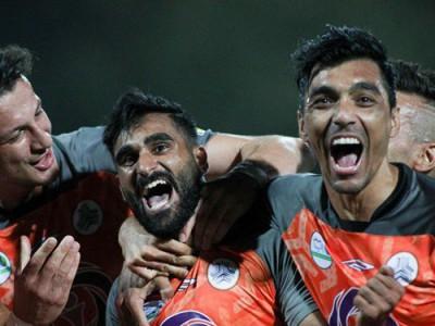 برتری تیم فوتبال سایپا در دیداری دوستانه