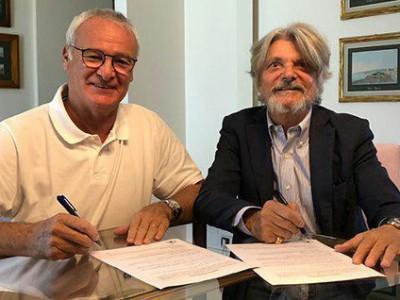 سمپدوریا؛ هشتمین تیم رانیری در ایتالیا!