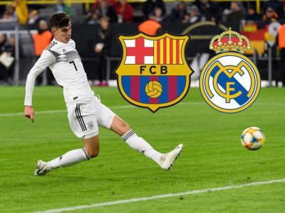 نظارت بارسلونا و رئال مادرید بر روی یک ستاره جوان