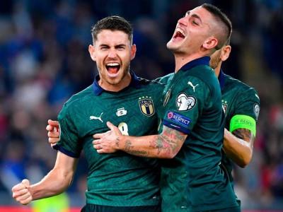 ایتالیا 2-0 یونان؛ صعود آتزوری به یورو ۲۰۲۰