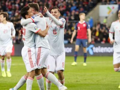 نروژ 1-1 اسپانیا؛ صعود به یورو در بازی بعد؟