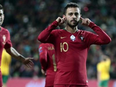 عملکرد درخشان برناردو سیلوا در تیم ملی پرتغال