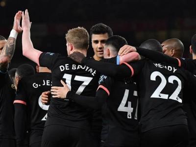 منچسترسیتی 3-0 آرسنال؛ تحقیر توپچی ها در امارات