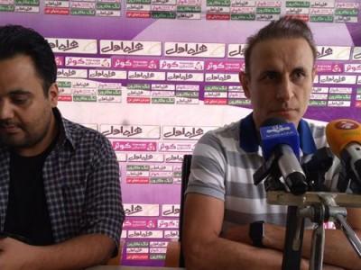 گلمحمدی: داور امروز بازیکنان ما را عصبی کرد